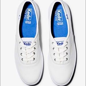 Ked's White Leather Champion shoes!